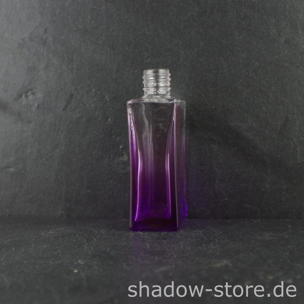 lila glasflasche 50 ml kaufen bei shadow store shop. Black Bedroom Furniture Sets. Home Design Ideas